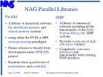 nag parallel libraries