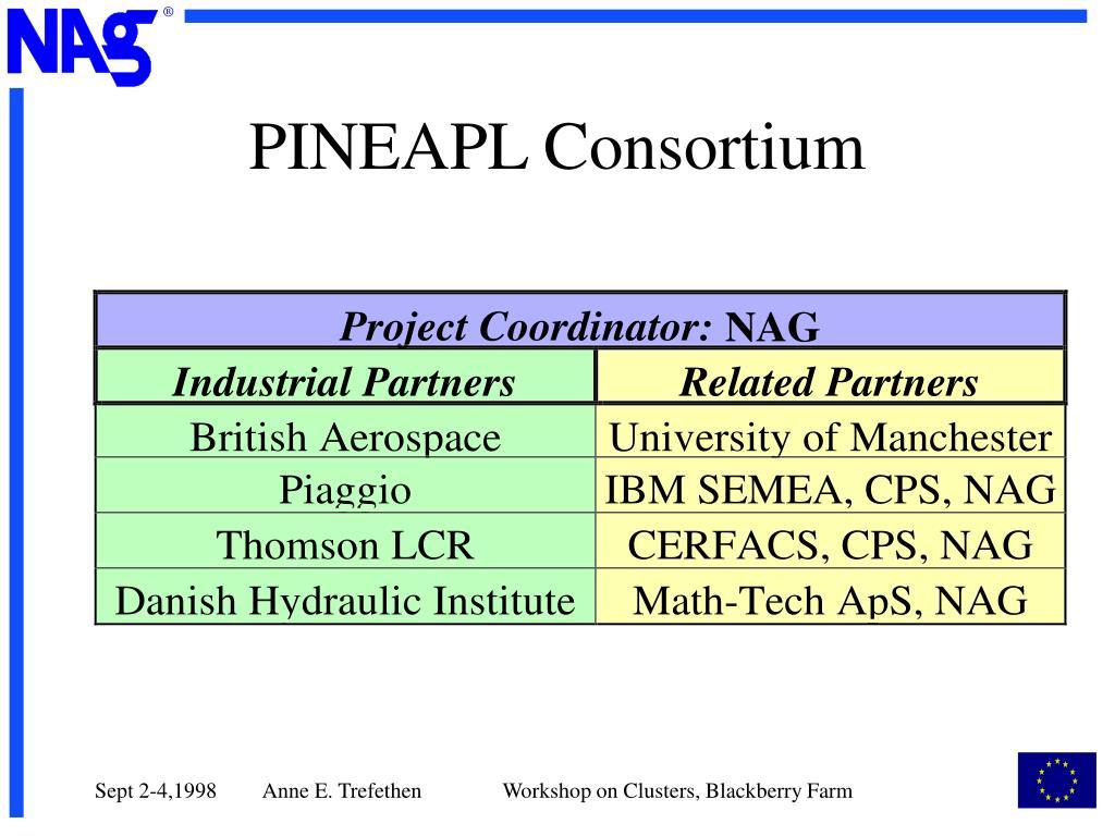 PINEAPL Consortium