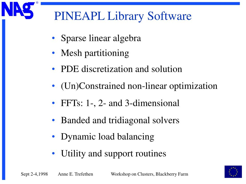 PINEAPL Library Software