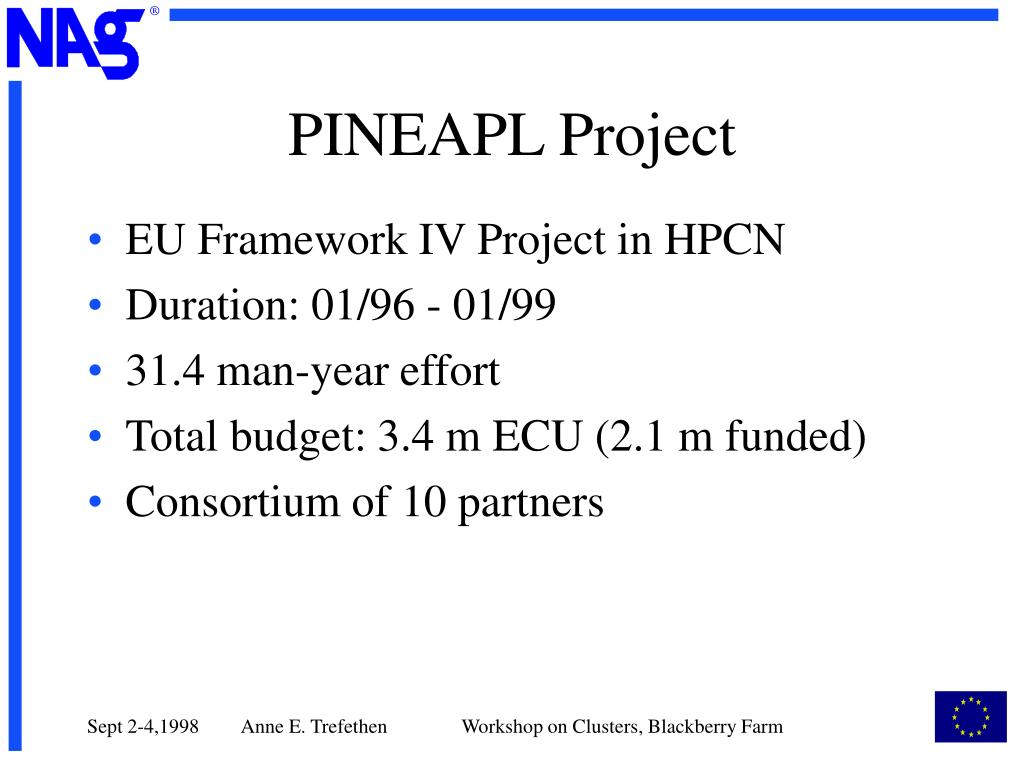 PINEAPL Project
