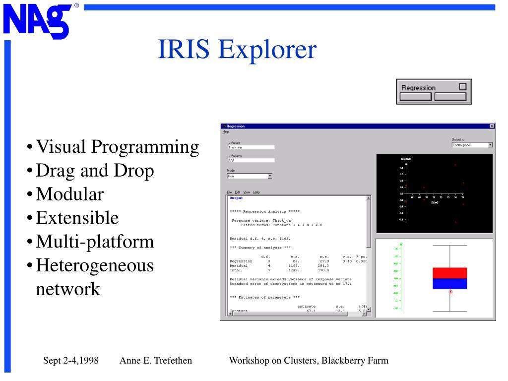 IRIS Explorer