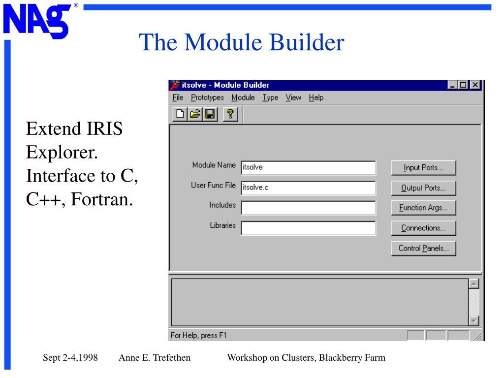 The Module Builder