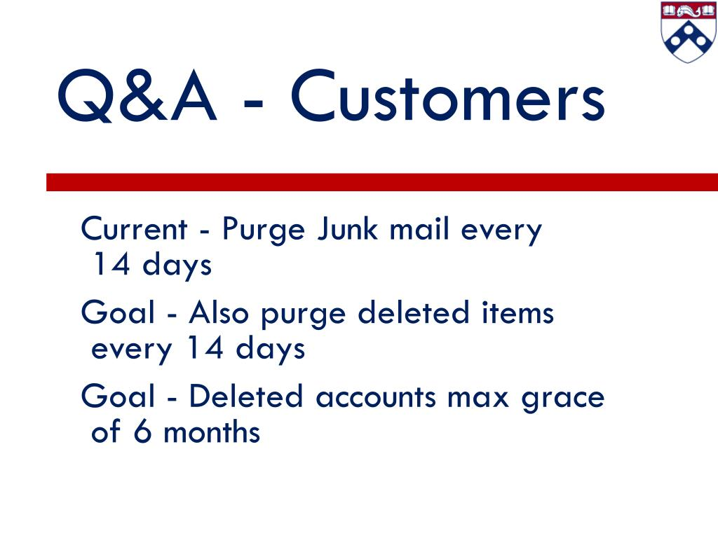Q&A - Customers