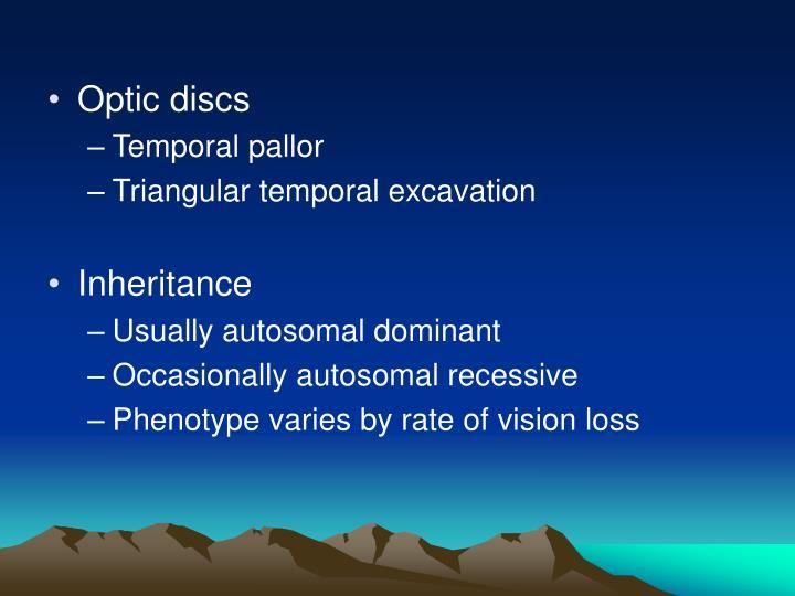 Optic discs