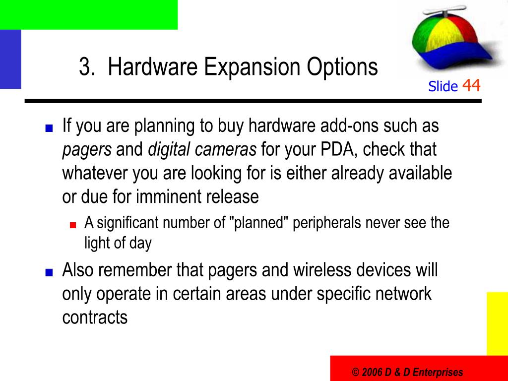 3.  Hardware Expansion Options