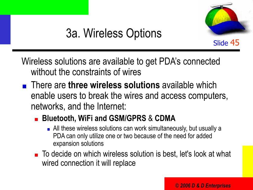 3a. Wireless Options