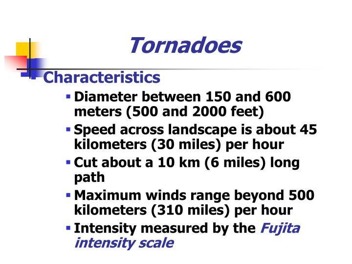 Tornadoes