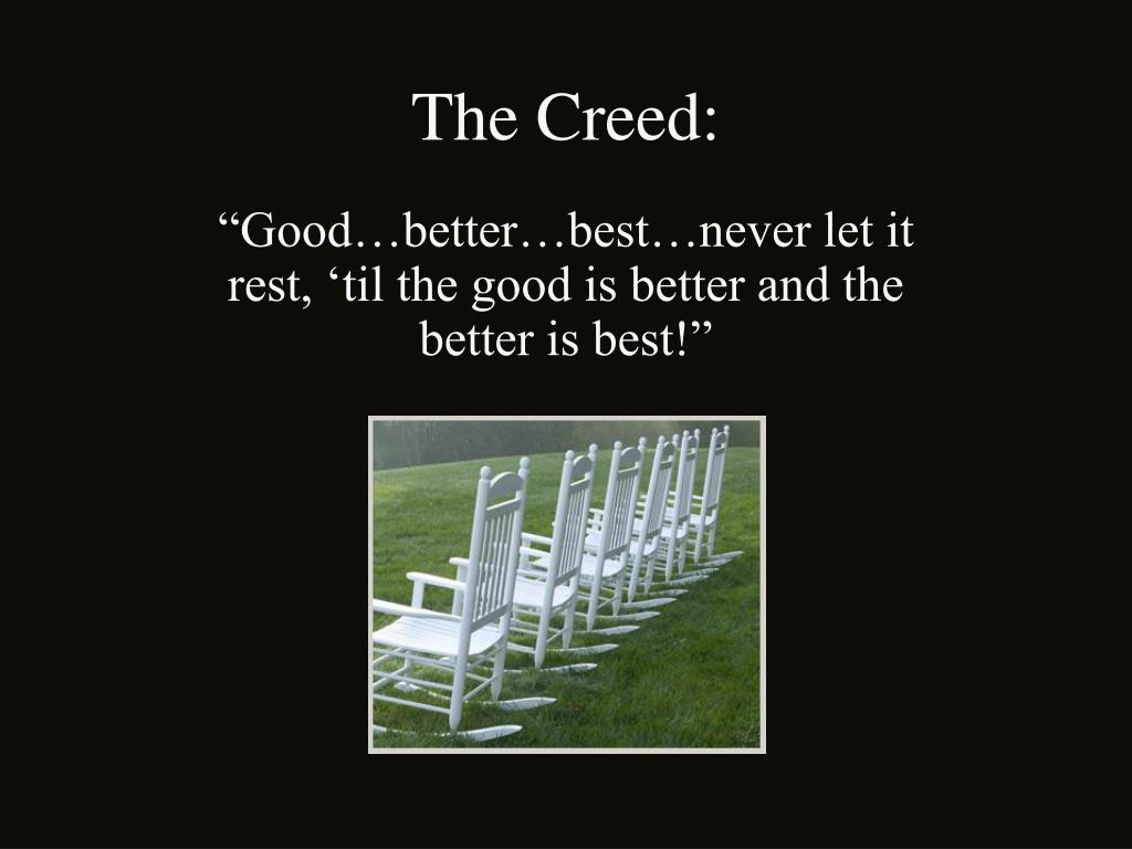 The Creed: