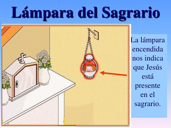 Lámpara del Sagrario