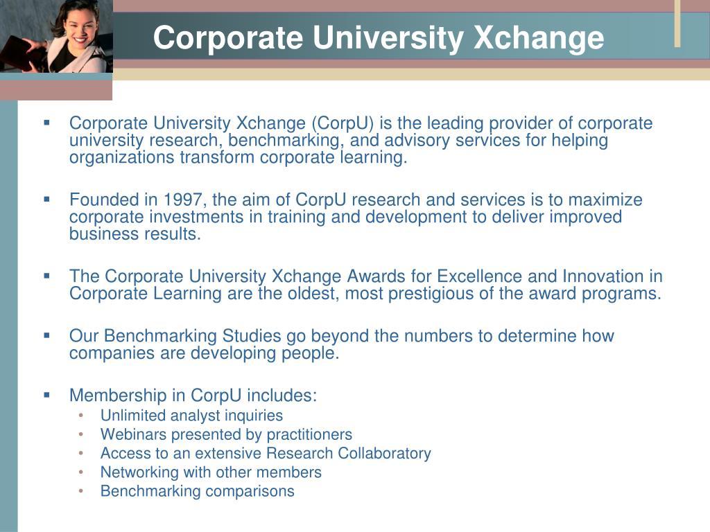 Corporate University Xchange