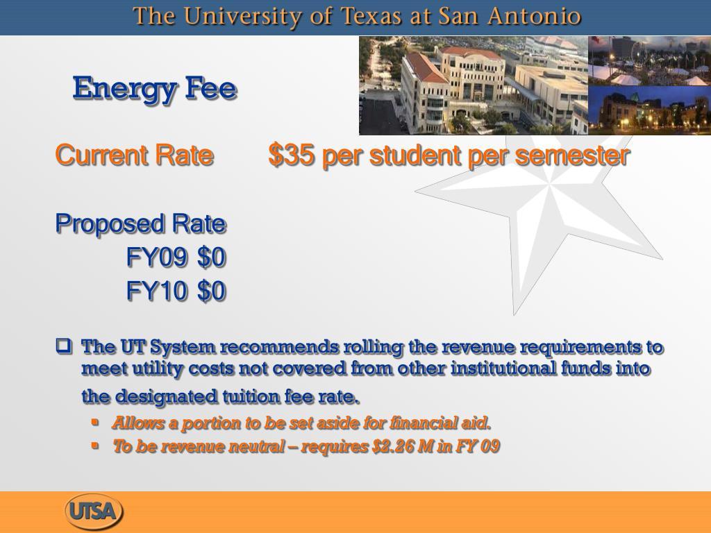 Energy Fee