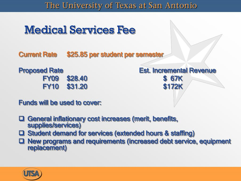 Medical Services Fee