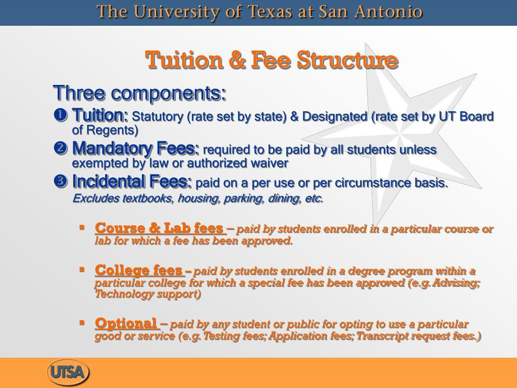 Tuition & Fee Structure
