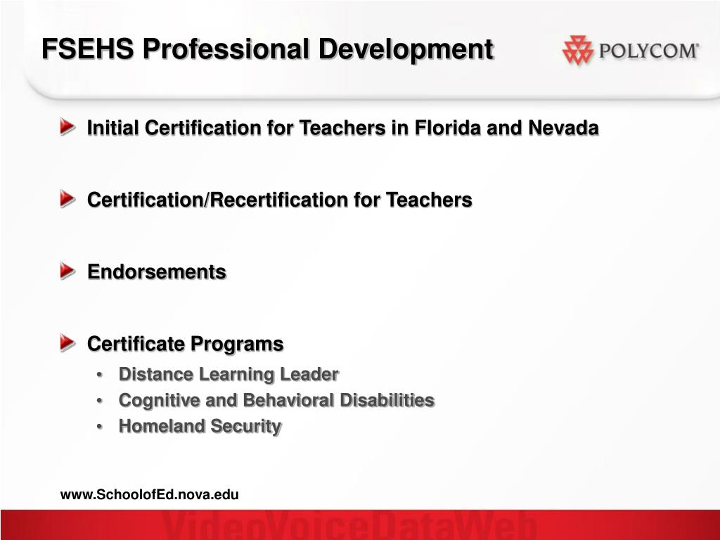 FSEHS Professional Development