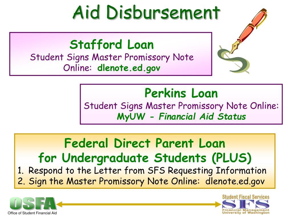 Aid Disbursement