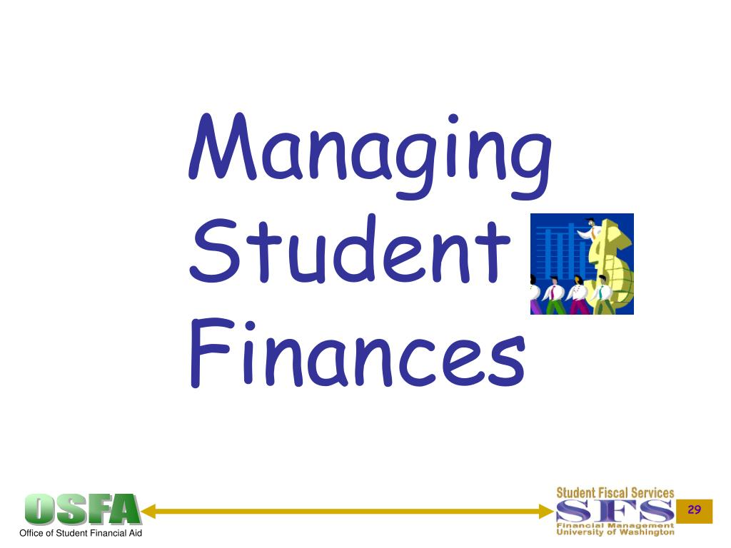 Managing Student Finances