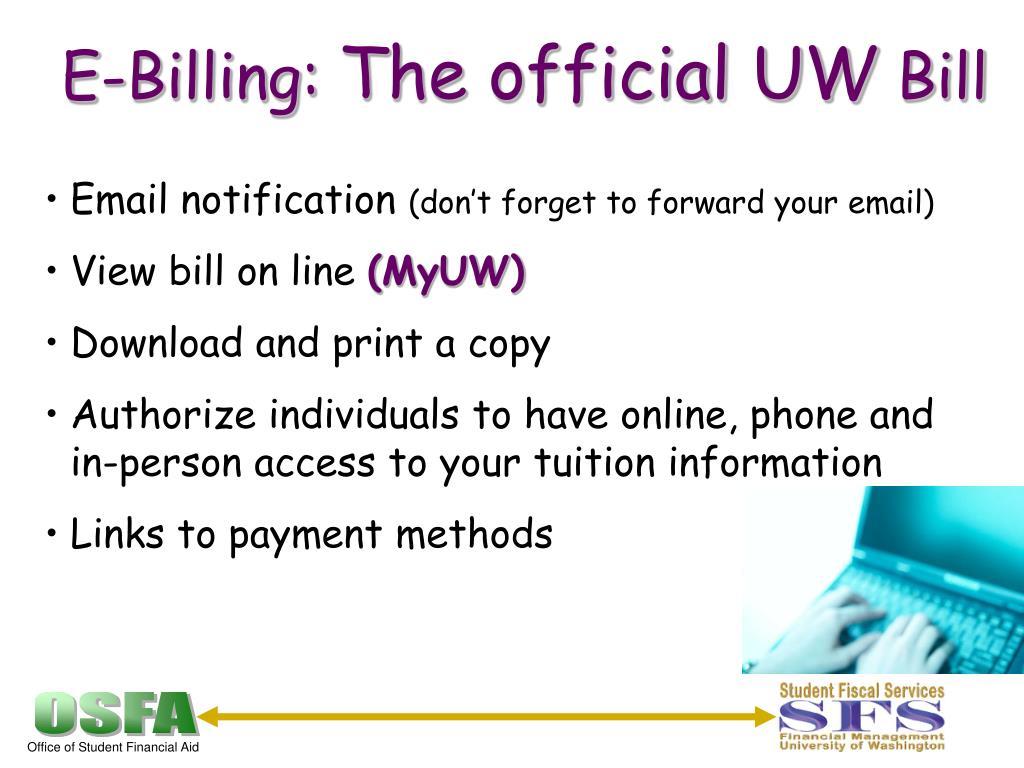 E-Billing: