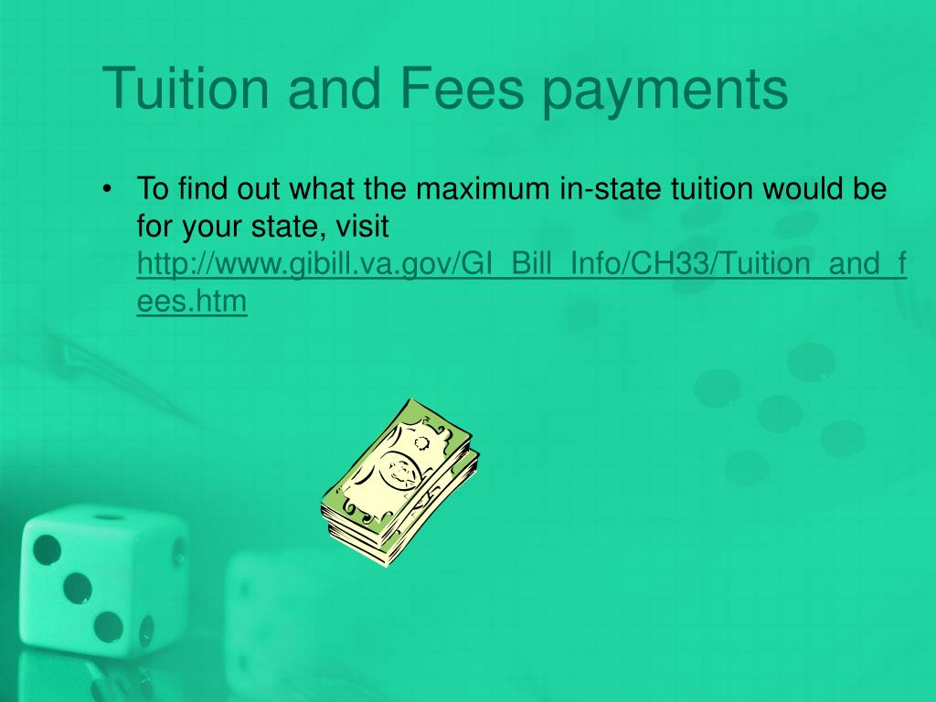 Tuition and Fees payments