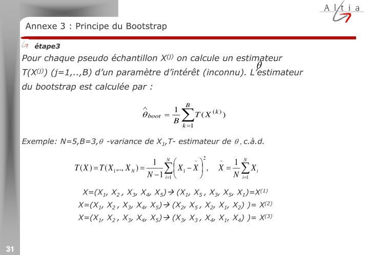 Annexe 3 : Principe du Bootstrap