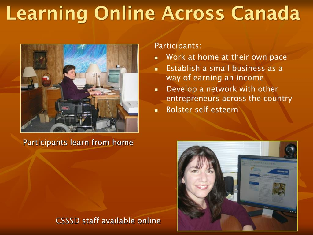 Learning Online Across Canada