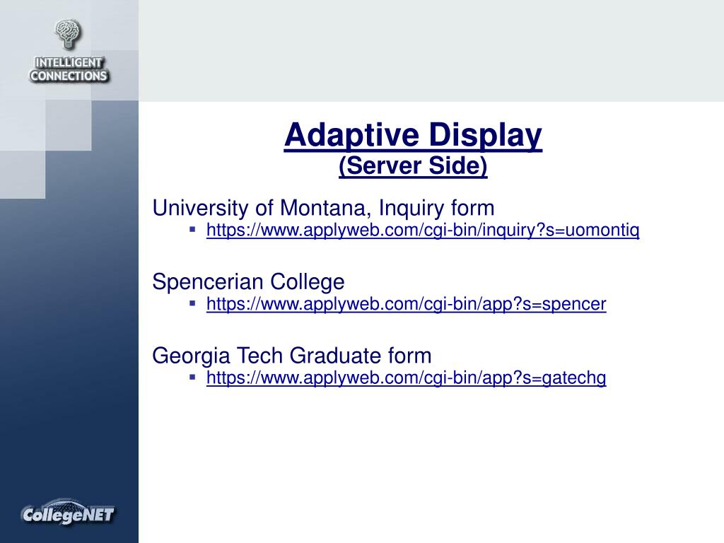 Adaptive Display
