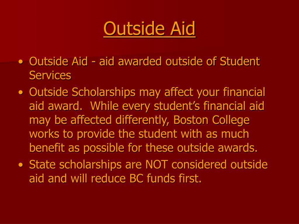 Outside Aid