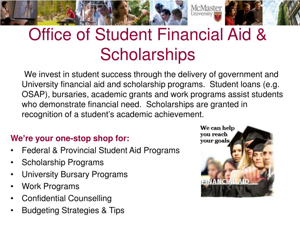 Office of Student Financial Aid & Scholarships