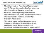 about the author and this talk