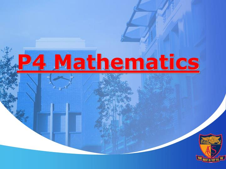P4 Mathematics