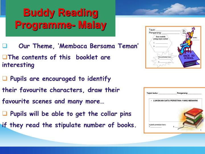 Buddy Reading Programme- Malay