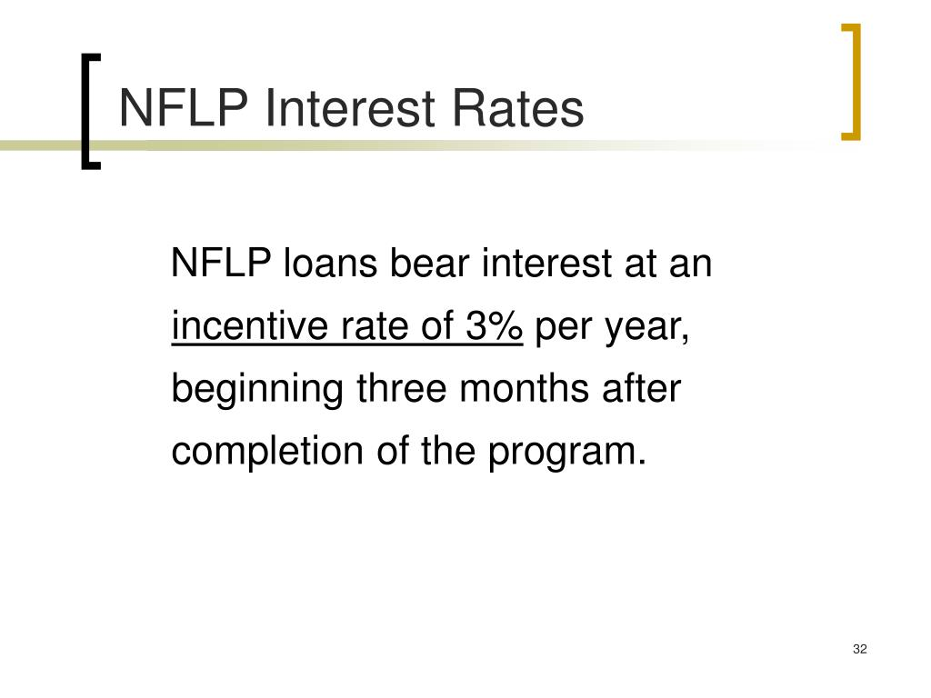 NFLP Interest Rates