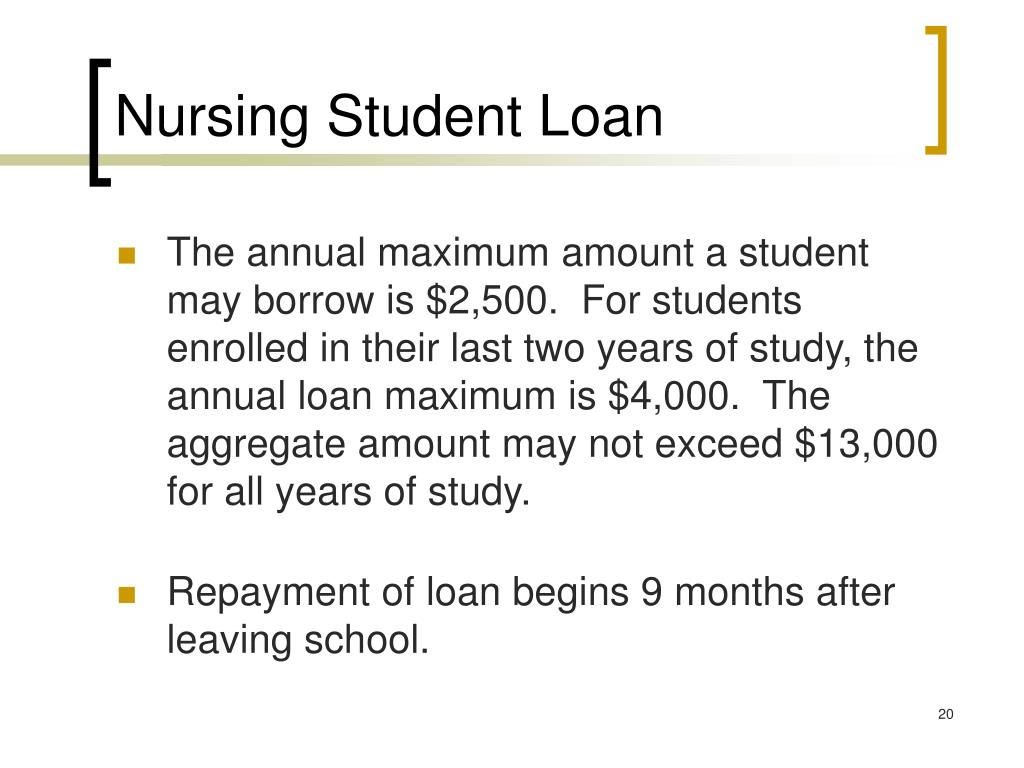 Nursing Student Loan