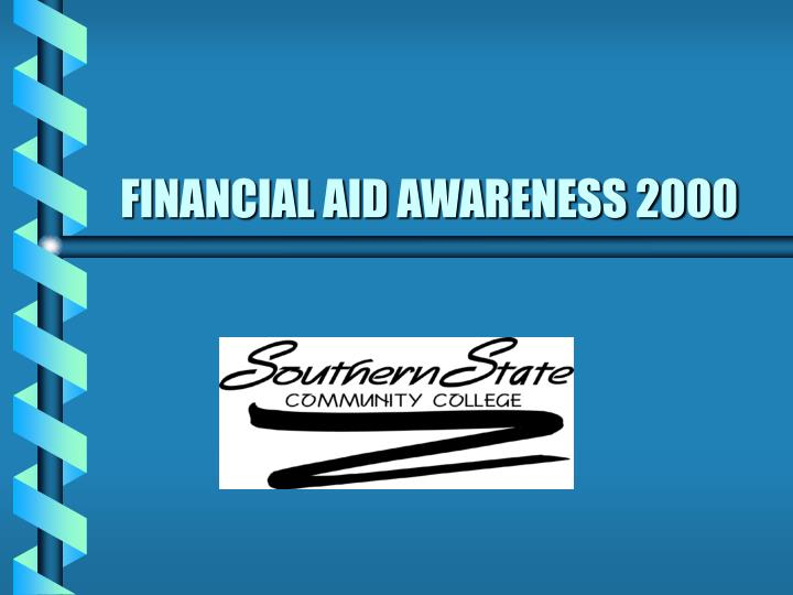 Financial aid awareness 2000 l.jpg