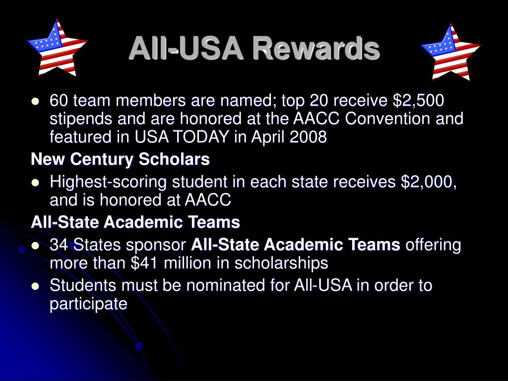 All-USA Rewards