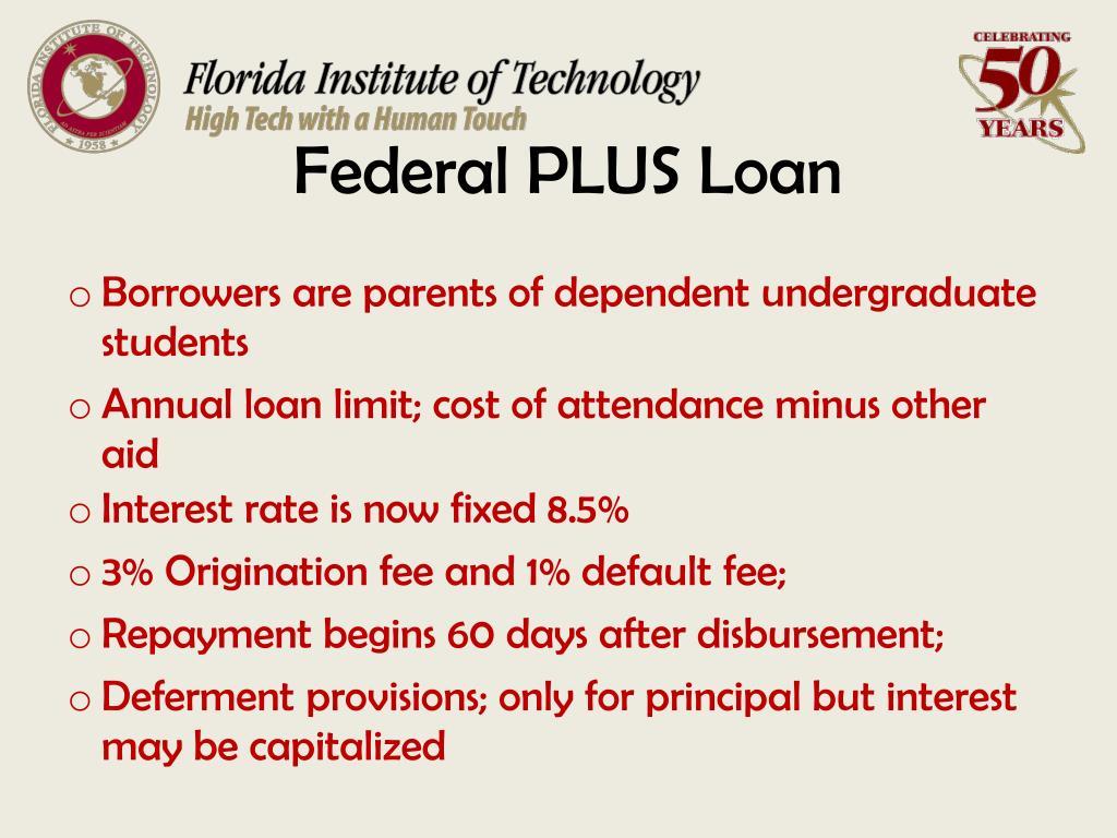 Federal PLUS Loan