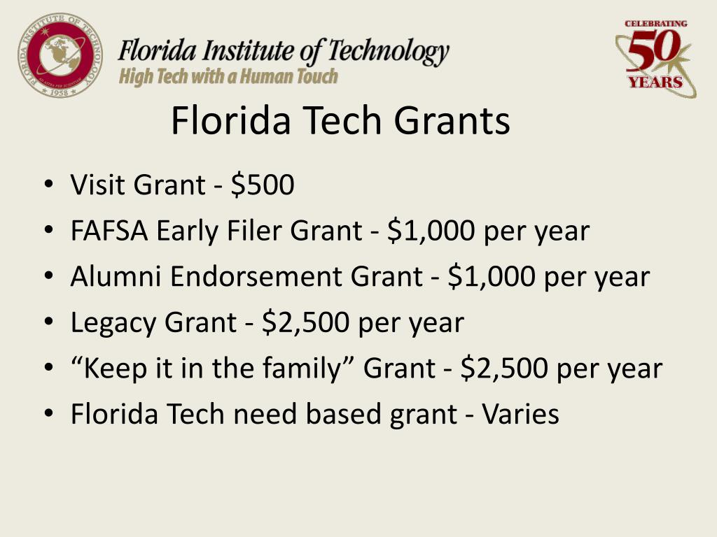 Florida Tech Grants