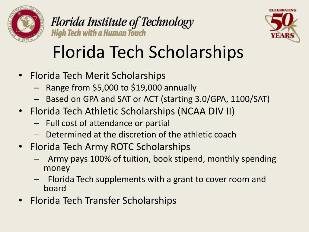 Florida Tech Scholarships