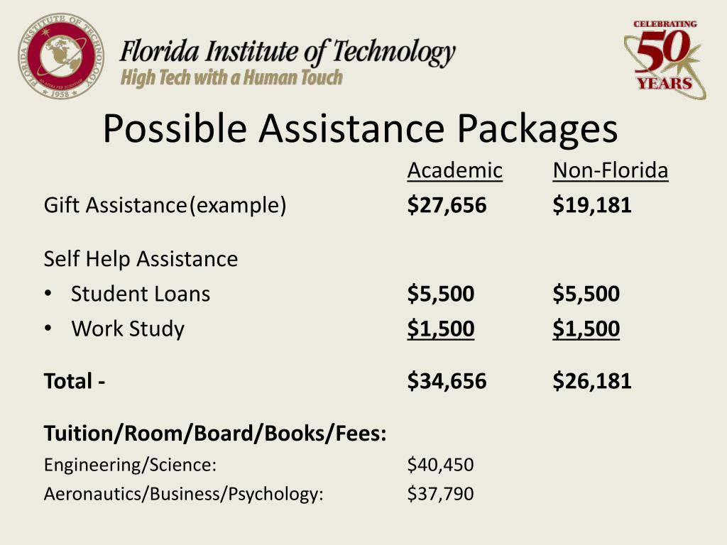 Possible Assistance Packages