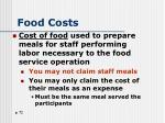food costs1