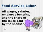 food service labor