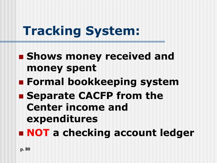 Tracking System: