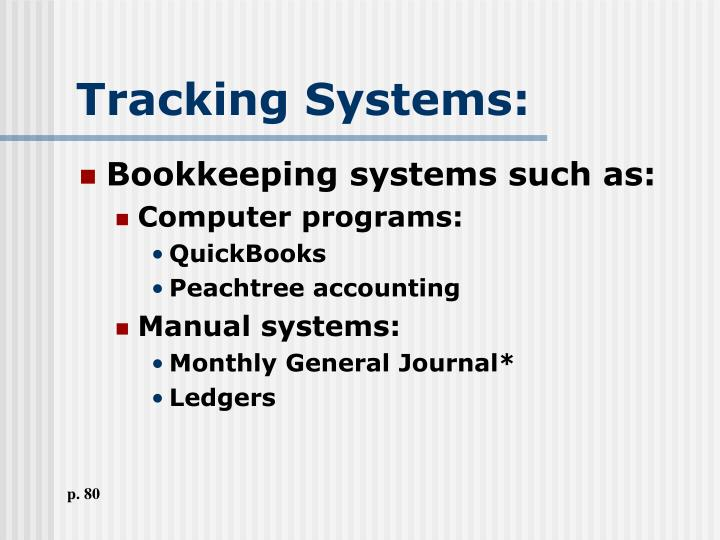 Tracking Systems: