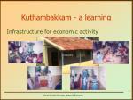 kuthambakkam a learning