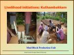 livelihood initiatives kuthambakkam2