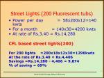 street lights 200 fluorescent tubs