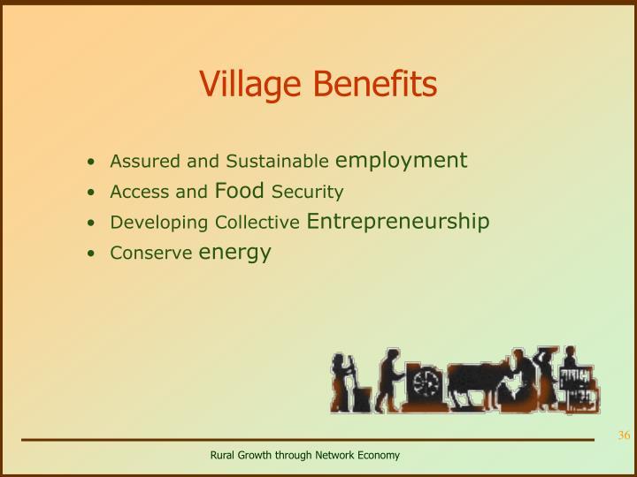 Village Benefits