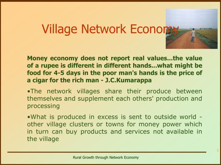Village Network Economy