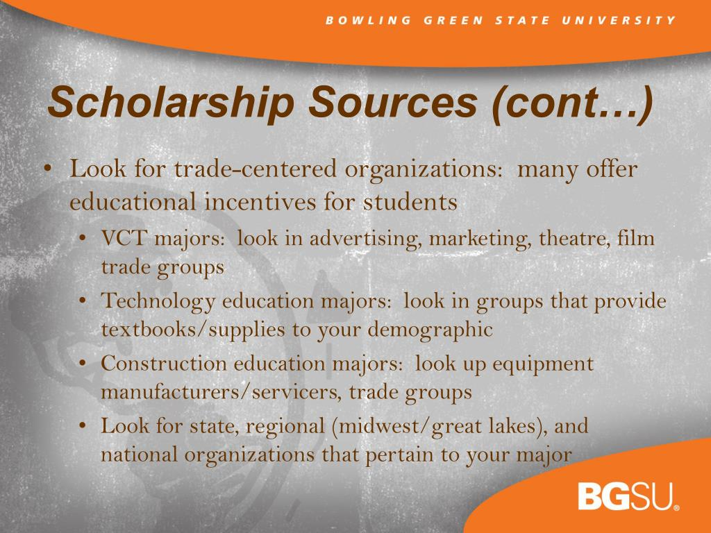 Look for trade-centered organizations:  many offer educational incentives for students