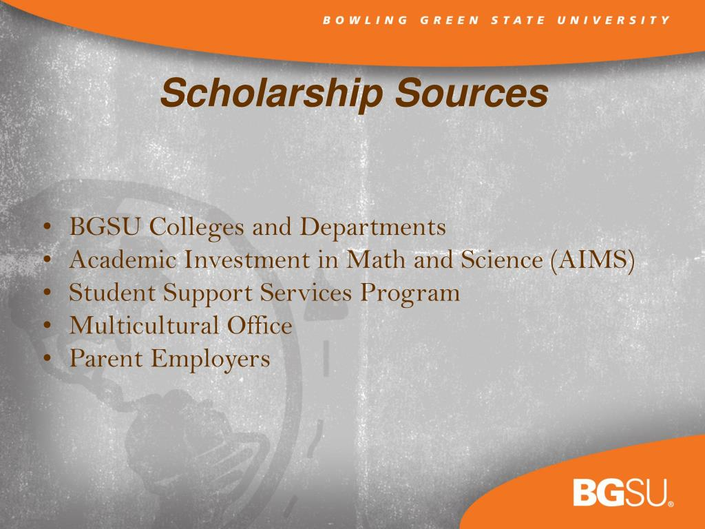 BGSU Colleges and Departments