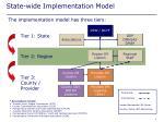 state wide implementation model
